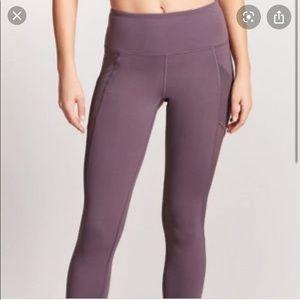 Forever 21 Purple Mid-rise Leggings